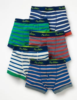 Multi Stripes 5 Pack Boxers