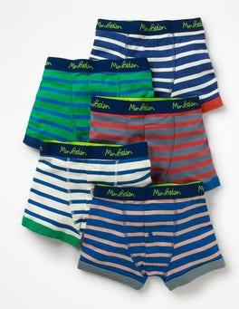 Multi Stripes 5 Pack Boxers