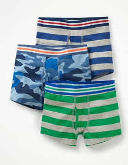 Multi 3 Pack Jersey Boxers