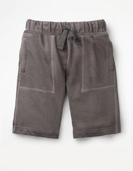 Pewter Grey Garment-dyed Sweatshorts
