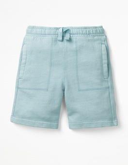 Mineral Blue Garment-dyed Sweatshorts