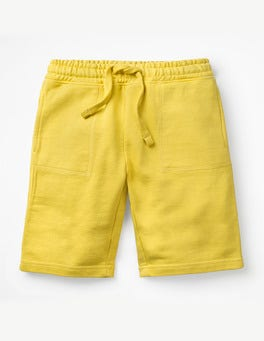 Mimosa Yellow Garment-dyed Sweatshorts