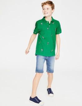 Astro Green Toucans Piqué Polo Shirt