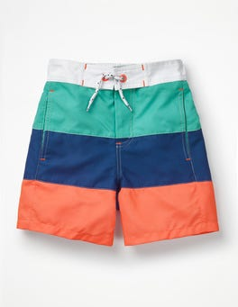 Sea Breeze Blue/Duke Blue Poolside Shorts