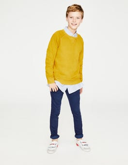 Mimosa Yellow Garment-dyed Sweatshirt