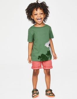 Rosemary Green Koala Animal Appliqué T-shirt