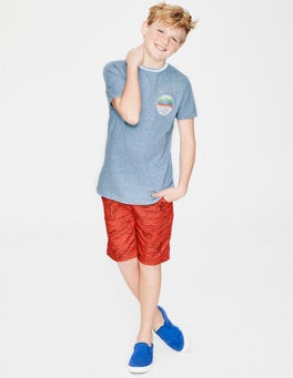 Light Blue Marl Surfer T-shirt