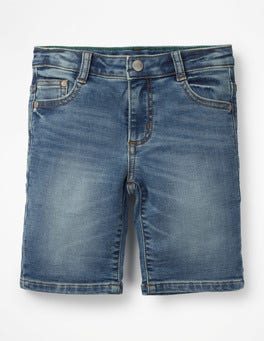 Light Vintage Denim Denim Shorts