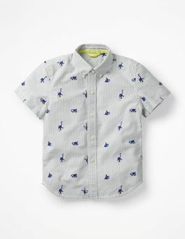 Starboard Blue Monkeys Fun Short-sleeved Shirt