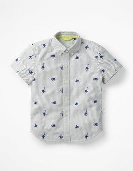 Starboard Blue Monkeys Fun Short-sleeved Shirt