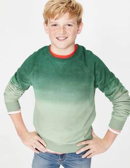 Patina Green Dip Dye Surf Sweatshirt