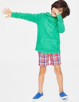 Jungle Green Garment-dyed Slub Hoodie