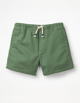 Safari Green Drawstring Shorts
