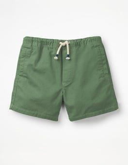 Safari Green Drawstring Shorts