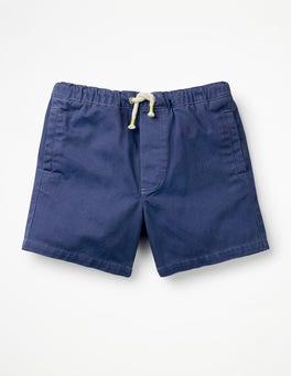Starboard Blue Drawstring Shorts