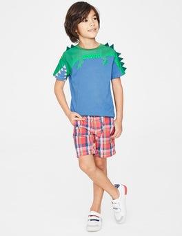 Elizabethan Blue Croc Novelty T-shirt