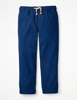 Summer Blue Summer Pull-on Trousers