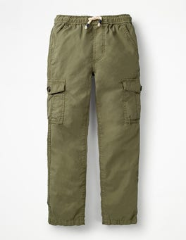 Army Green Lightweight Cargo Trousers