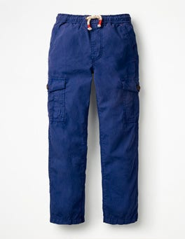 Starboard Blue Lightweight Cargo Trousers