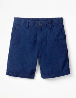 Summer Blue Smart Shorts