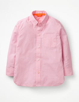 Pink End On End Smart Shirt