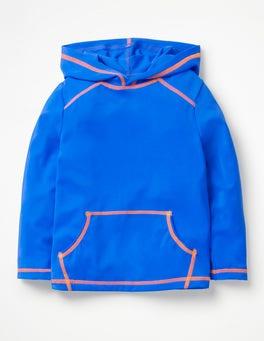 Pool Blue Hooded Rash Vest