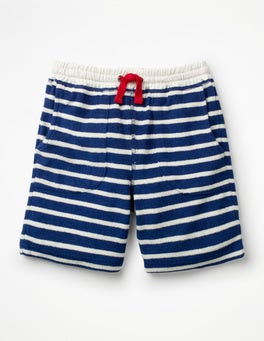 Starboard Blue/White Towelling Sweatshorts