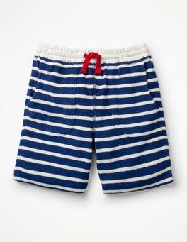 Starboard Blue/White Towelling Sweatshorts