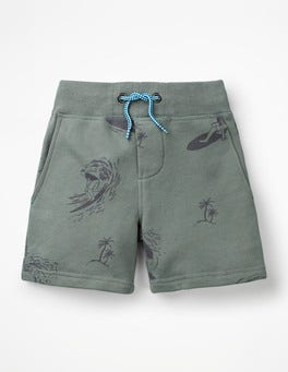 Pottery Green Surfers Jersey Shorts
