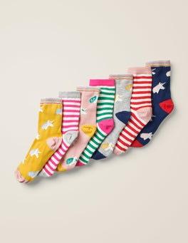 Licornes 7 paires de chaussettes
