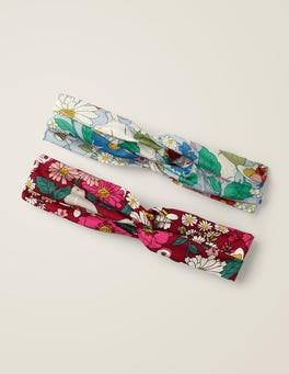 2 Pack Woven Headbands