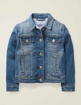 Mid Vintage Denim Everyday Jacket