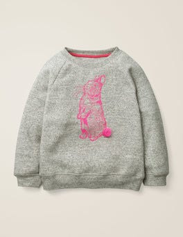 Printed Pet Pals Sweatshirt