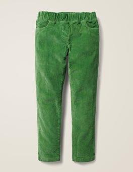 Weidengrün Cord-Leggings
