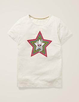 Ivory Rainbow Bunny Funky Pets T-shirt