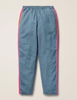 Woven Side Stripe Trousers
