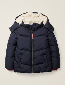 Navy Cosy Padded Jacket