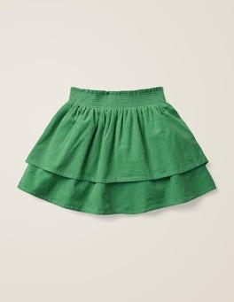 Weidengrün Gewebter Smokrock
