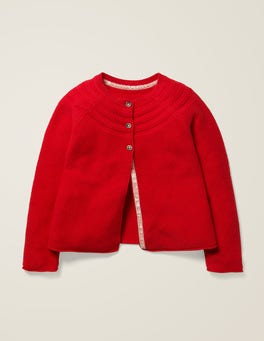 Poppadew Red Everyday Cardigan