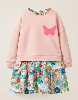 Provence Dusty Pink/Florabunda Colour-change Sequin Dress