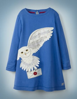 Duke Blue Hedwig Post Dress