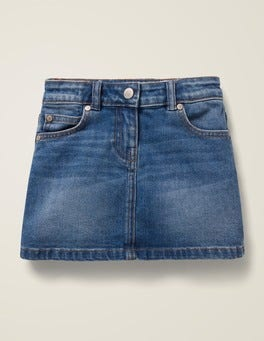 Mid Vintage Five Pocket Denim Skirt