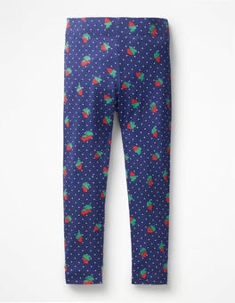 Starboard Blue Strawberry Spot Fun Leggings