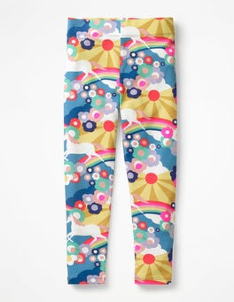 Multi Unicorn Sunset Fun Leggings