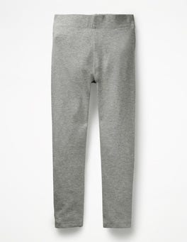 Grey Marl Plain Leggings