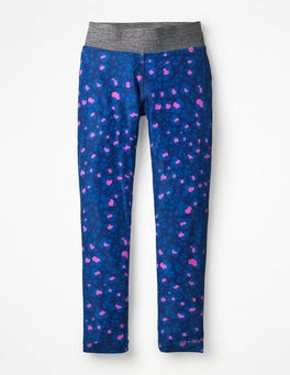 Duke Blue/Pink Animal Print Active Leggings
