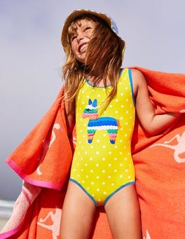 Appliqué Swimsuit