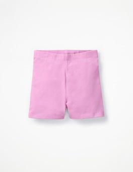 Lilac Pink Plain Jersey Shorts