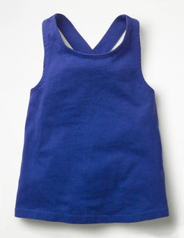 Blue Wave Cross-back Tank