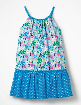 Strappy Hotchpotch Dress